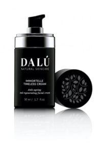 IMMORTELLE TIMELESS CREAM opened - DALÚ natural skincare