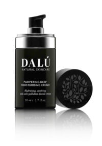 PAMPERING DEEP MOISTURISING CREAM opened - DALÚ natural skincare