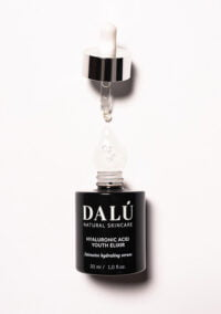 HYALURONIC ACID YOUTH ELIXIR opened use - DALÚ natural skincare