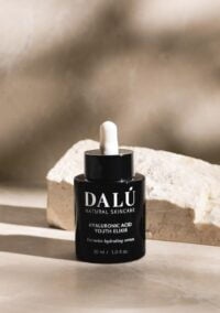 HYALURONIC ACID YOUTH ELIXIR stone - DALÚ natural skincare