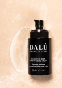 PAMPERING DEEP MOISTURISING CREAM usage - DALÚ natural skincare