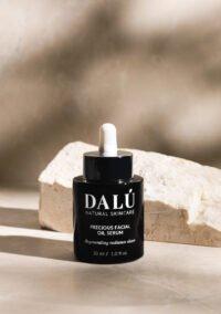 PRECIOUS FACIAL OIL SERUM stone closed - DALÚ natural skincare